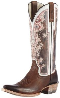 Womens Ariat Alameda Boots Brown #10011088 via @Chris Allen & Cheryl Smith Boots