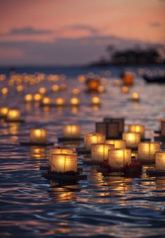 Lantern ceremony in Hawaii, to remember those who have been lost -