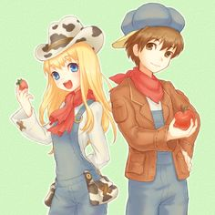 harvest moon claire and jack