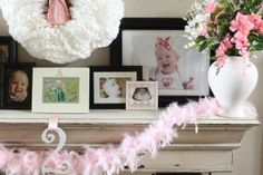 Weirdest Mantel Decor: A Single Girl's Mantel Shelf #fireplace #diy #shrine