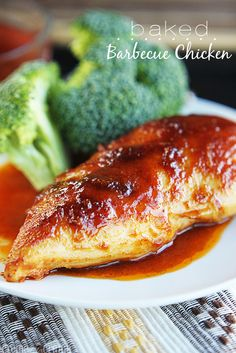Delicious and healthy Baked BBQ Chicken