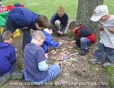 More great bug party ideas!