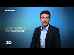 Les visages de la chaîne : Mohamed Kaci, journaliste présente Maghreb-Orient Express et le grand rendez-vous d'information le 64 minutes.