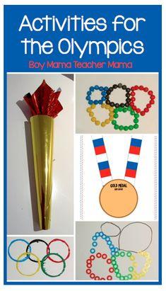 Boy Mama Teacher Mama | Activities for the Olympics
