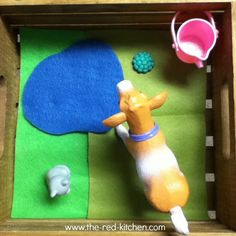 Easy Farm Playscape (Preschool Activity)    www.the-red-kitchen.com