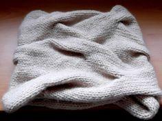 10 tutoriales para aprender a hacer bufandas de punto