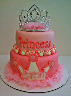 Little Girl Birthday Cake Idea little girls, little girl birthday, princess birthday, girl birthday cakes, pink princess, kid birthdays, big girls, kid birthday parties, princess cakes