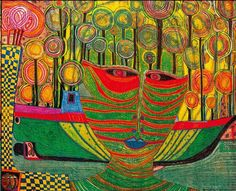 Hundertwasser magic in Vienna