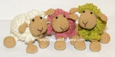 Tutorial: oveja amigurumi (crochet sheep)!