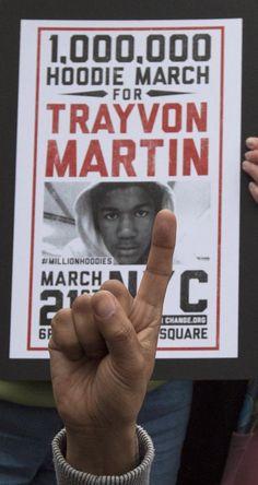 Trayvon Martin...remember the name