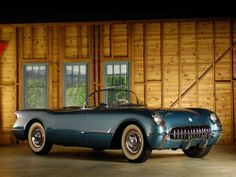 1954 Chevrolet Corvette: Only 300 units were sprayed Pennant Blue.