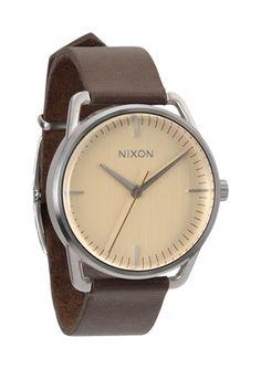The Mellor in Cream by Nixon $125