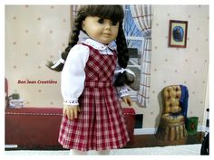 American Girl Doll Molly McIntire 1944 by BonJeanCreations on Etsy, $34.49