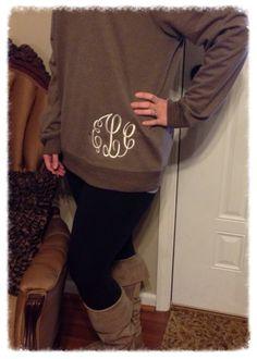 Monogrammed Sweatshirt | Southern Traditions | Clanton, Alabama