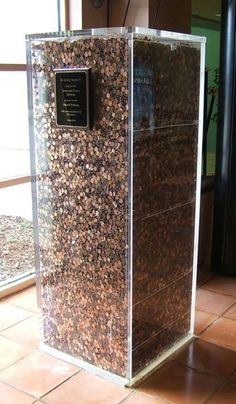 Here is one million pennies...