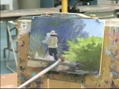 Basic Oil Painting Techniques : How to Use a Focal Point in an Oil Painting - YouTube