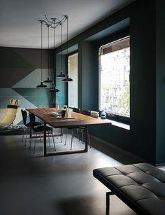 Fritz Hansen flagship store opens in Milan.  Repinned by Secret Design Studio, Melbourne. www.secretdesignstudio.com