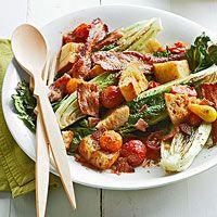 BHG's Newest Recipes:Roasted BLT Salad Recipe