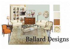 Ballard Design  e-Decor at www.suburbanrevival.com ballard live, ballard design