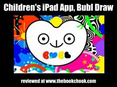 Review: Children's iPad App, Bubl Draw - create with colour, music and shapes.