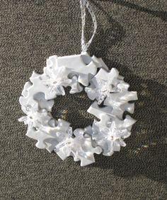 puzzle piece ornament