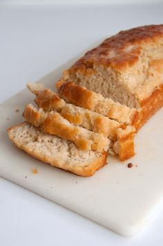 Beer Bread (Recipe) I have tried different bread recipes the past year or two and without a kitchen aid or bread maker none of them were either good or easy enough to try again. This recipe was amazingly simple. So easy and still so delicious. I'll definitely be making it again!