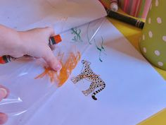 The Artful Child: Storytelling - a camouflage book how to - Mister Seahorse