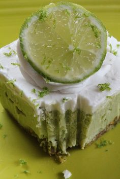 Coconut Lime Cream Cake.........