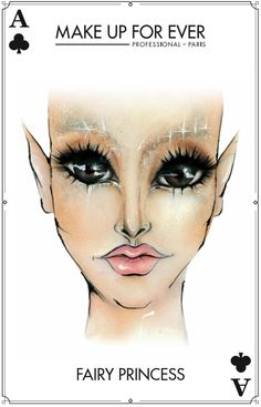 Make Up For Ever #Halloween Look - Fairy Princess