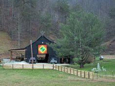 More barns...with barn quilt!