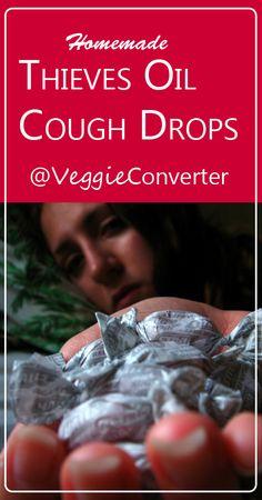 Thieves Cough Drops | @VeggieConverter essential oils YoungLiving