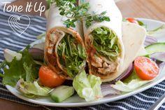 chicken wraps, salad wrap, yogurt chicken, chicken salads, food, eat, lunch, healthi recip, greek yogurt