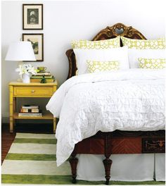 mix antiques with modern pattern and color