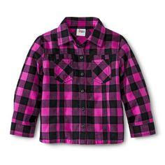 Target Toddler Girls' Flannel Shirt