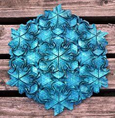 Origami Tessellation by Joel Cooper