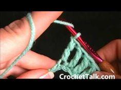 How to Crochet - Lesson 5 (Tripple Crochet)