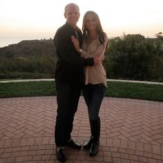 A photo to commemorate a marriage proposal at Pelican Hill | www.pelicanhill.com |The Resort at Pelican Hill, Newport Beach, CA | #pelicanhillresort #engagement #memories