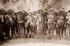 Pancho Villa staff.