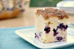 Eat Skinny: Blueberry Muffin Cake Recipe favorite-recipes