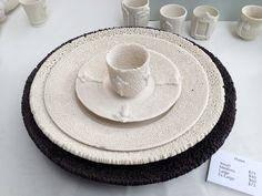 #ceramic tableware at #Toronto Outdoor #Art Exhibit via http://lifeovereasy.com/ #tableware