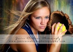 softball senior pict