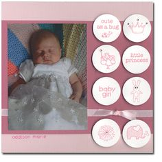 Stamp Basics-8x8 baby