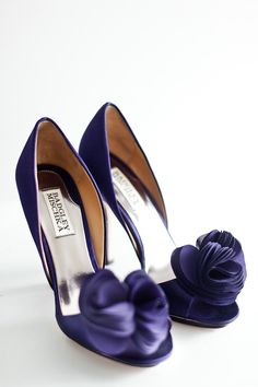 wedding shoes, colors, heel, purple wedding, bridesmaid shoes, something blue, badgley mischka, burgundy, blues