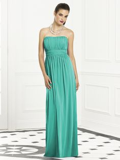 Green Turquoise Bridesmaid dress