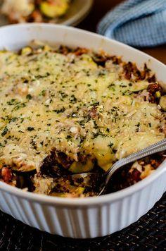 Italian Zucchini Quinoa Casserole