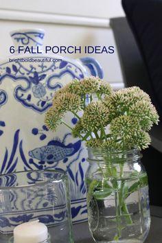 6 DIY Fall Porch Ideas