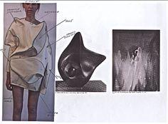 Fashion Sketchbook - fashion design development of a sculptural fashion collection; fashion portfolio // Toma Stenko