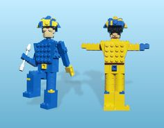 """PET SHOP BOYS LEGO    From the """"Go West"""" video, """"Very"""" ,1994"""