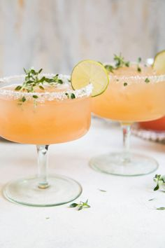 Honey Thyme Margarit