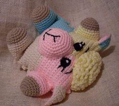 Cuddly Sheep Amigurumi Pattern : Sheeppers the Funmigurumi Lamb Rattle Pinterest